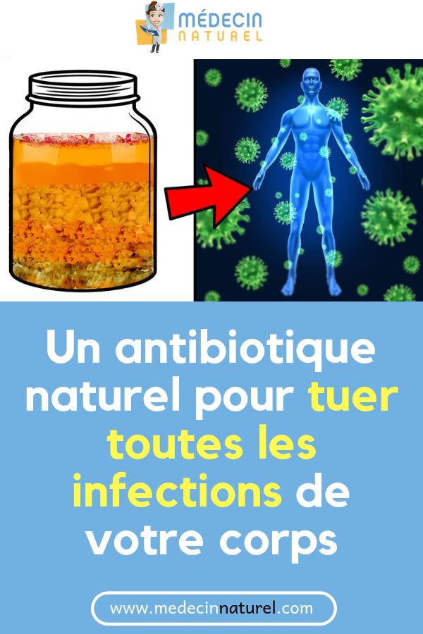 Comment traiter une infection sans antibiotiques?