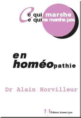 Quelles dilutions en homéopathie?