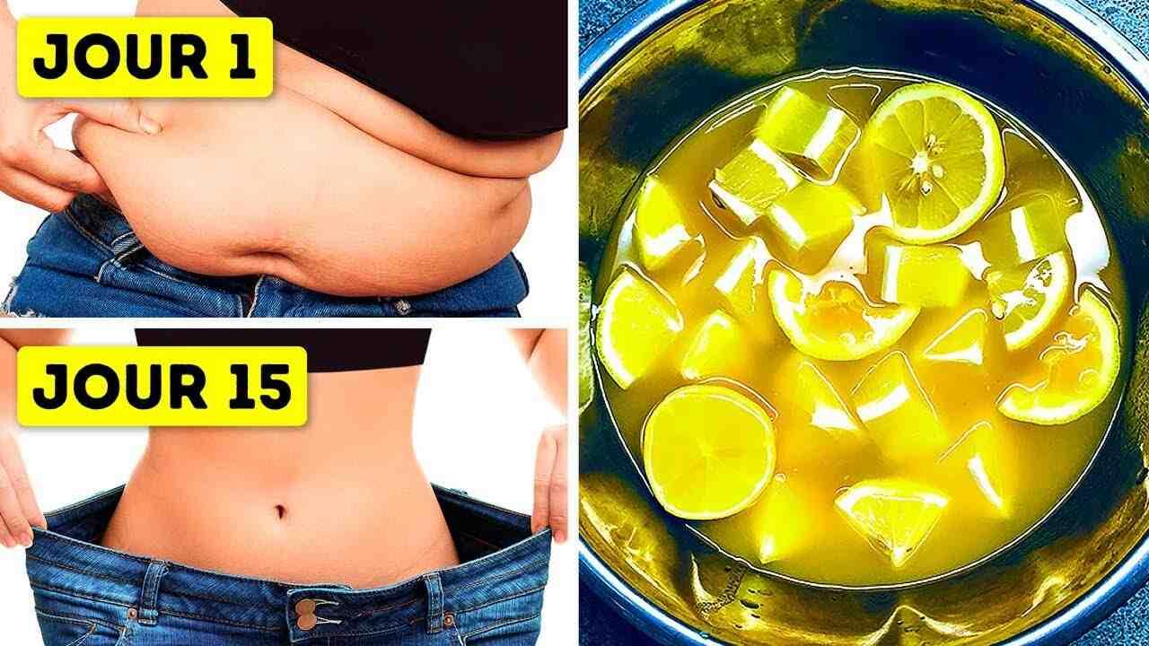 Boire de l'eau au citron vous fait-il perdre du poids?