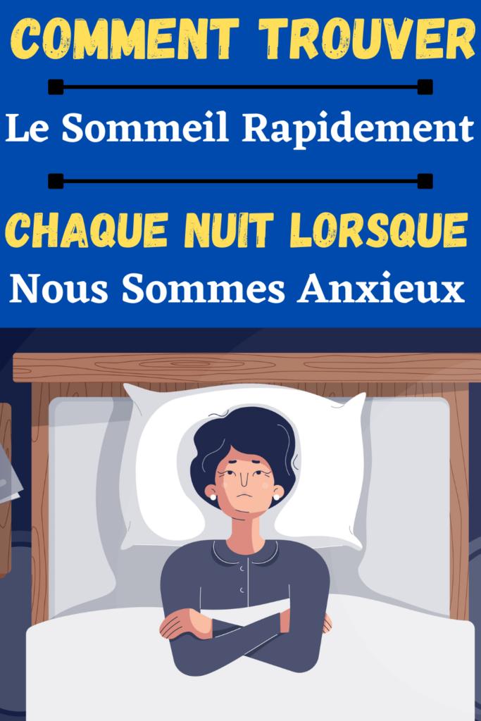 Comment trouver le sommeil en cas d'insomnie ?