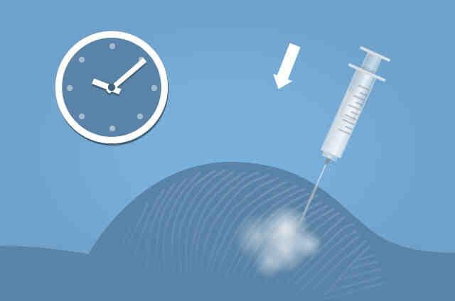 L'injection du vaccin est-elle douloureuse?