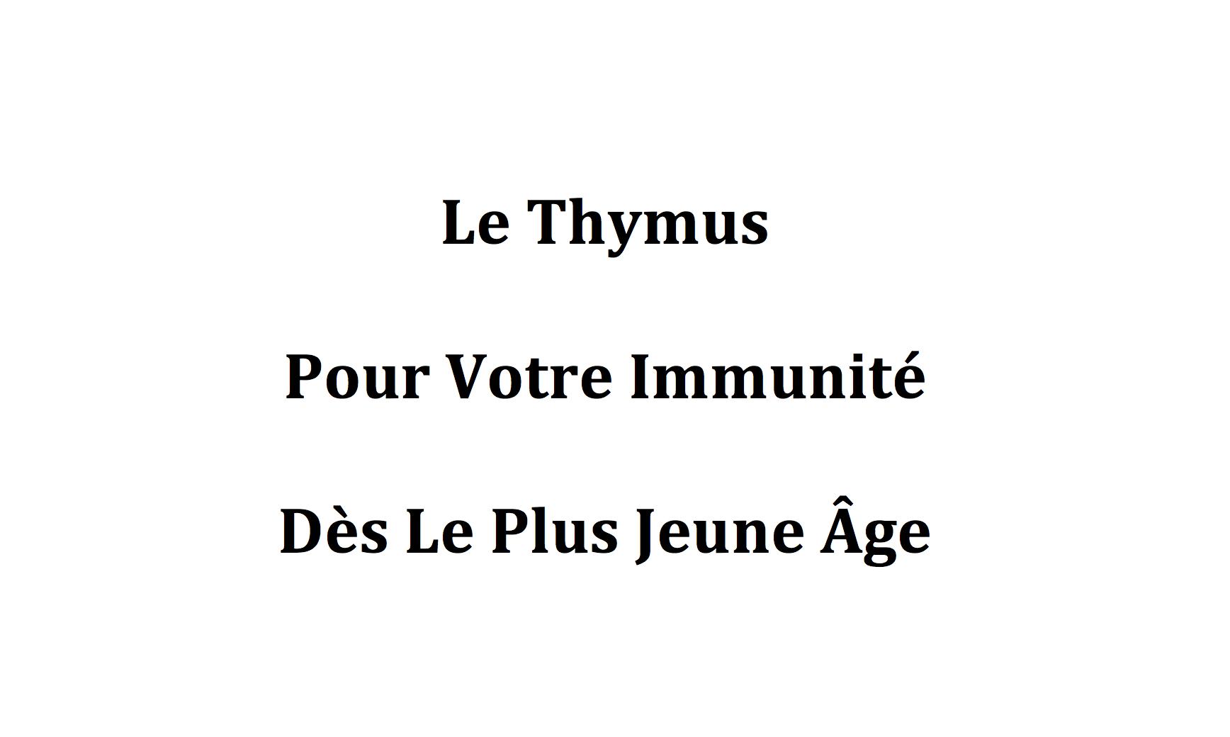 Comment prendre le sérum antigrippal de Yersin et Thymulin ?