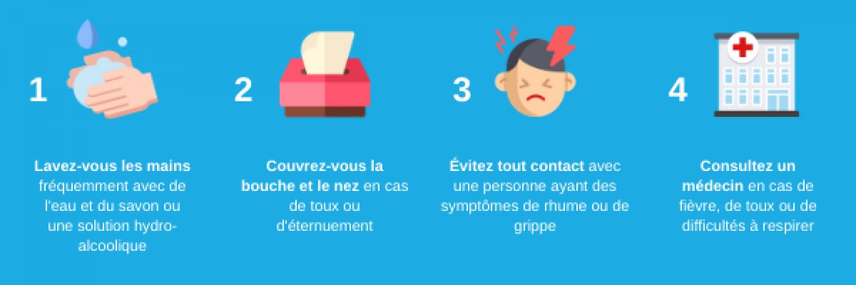 Quelle est la cause de l'agent de la grippe?